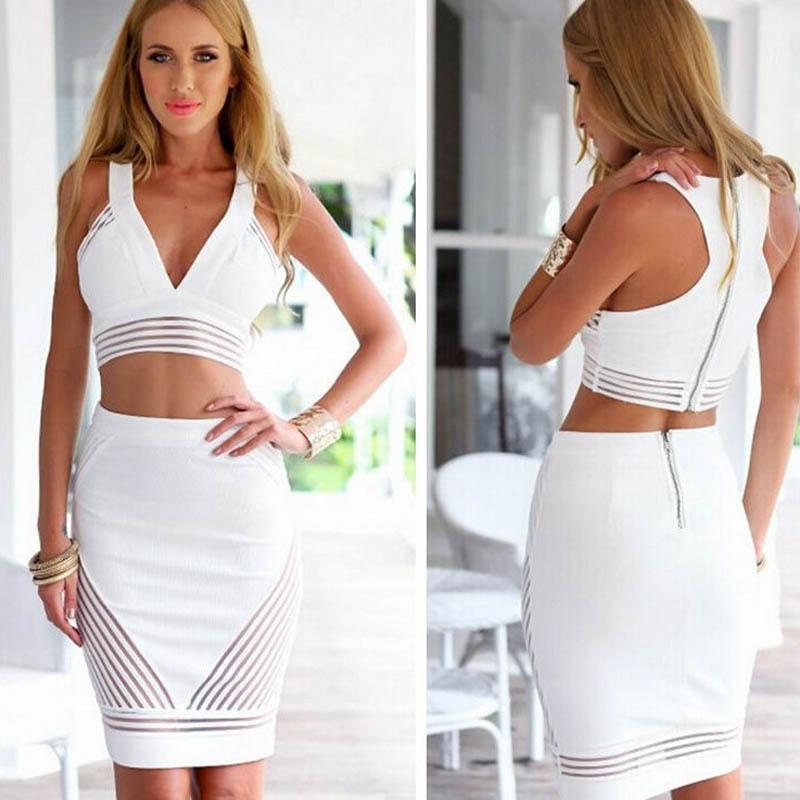 цена Женское платье Feitong 2015 2 Bodycon vestidos онлайн в 2017 году
