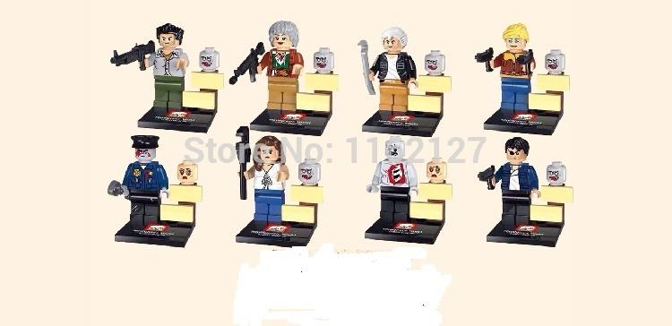 Детское лего 8 JX1004 Minifigures детское лего elephant minifigures 16 diy jx1001 1002