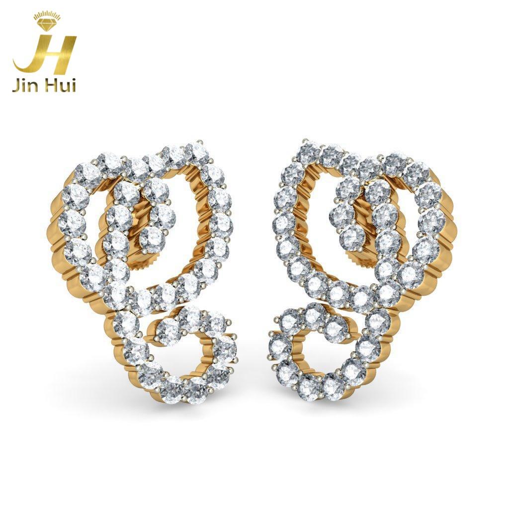 Jinhui Riya 18K 750 1.8ct JH-BS1189 jinhui dhwani 18k 750 0 08 jh bs4576