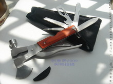 Travel Multi-function knife ax broken windows lifesaving device army field multifunction pliers ax / sword / hammer