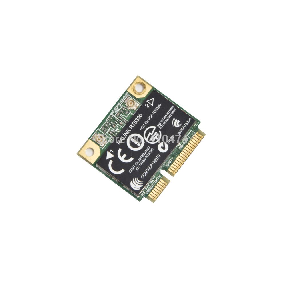 Free shipping Ralink RT5390 half MINI PCI-E 150Mbps Wlan Wifi Wireless card for HP CQ56 CQ57 G4 G5 G7 4230S 4330S 4530S(China (Mainland))