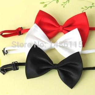 Или корейский дети или взрослые довольно и милый 10,5 * 6 см бабочка галстук-бабочка сплошной цвет T15438
