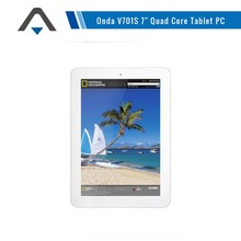Lowest price Onda V701S Quad core 1.0 GHz CPU 7 inch Multi touch Camera 8G ROM Android Tablet pc