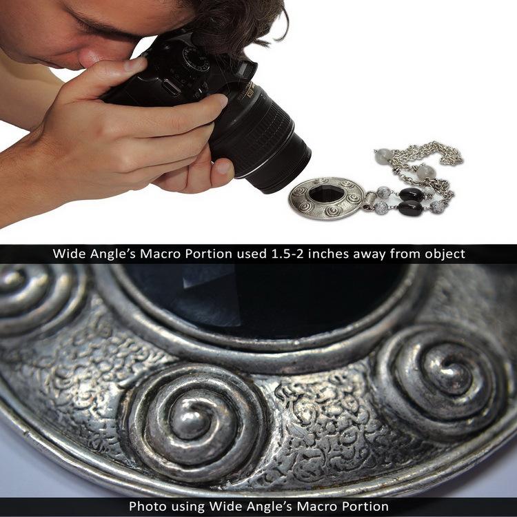 Фильтр для фотокамеры Lightdow HD 58 0,45 x Canon Nikon Sony DSLR 52W-100002 neolux bs 06
