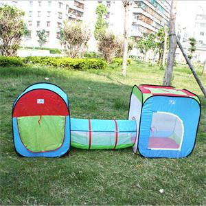 New Portable Tunnel Type Toy Tent for Kids Funny Children Outdoor Toys Novetly Gift For Kid(China (Mainland))