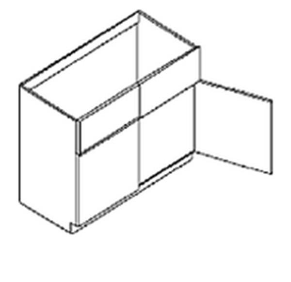 """Mahogany Maple Glazed Kitchen Sink Base Cabinet SB42 - Two Dummy Drawers Two Doors No Shelf 42""""x34.5""""x24""""(China (Mainland))"""