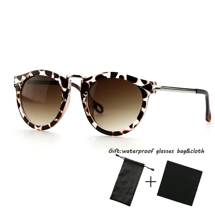Retail bag&cloth 2015 cat eye glasses retro glasses wonderful sunglass for woman&man fashion oculos de sol sunglasses S198(China (Mainland))