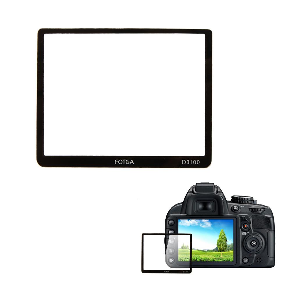 NEW Camera Screen Protector high quality Fotga Professional Camera LCD Optical Glass Screen Protector for Nikon D3100 Camera(China (Mainland))