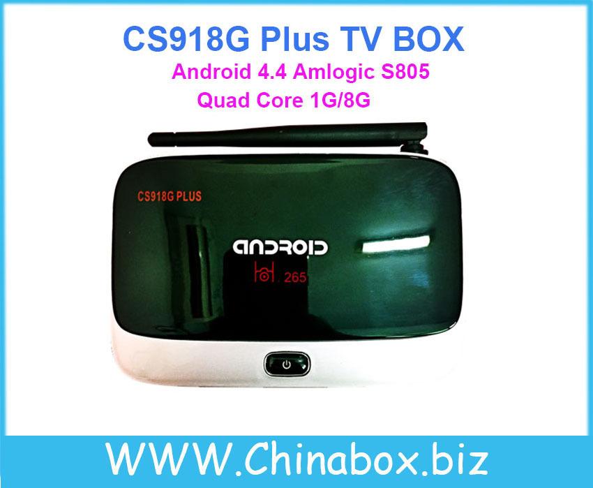 CS918G Plus Android 4.4 TV BOX IP TV CS918 MK888 1GB/8GB 1080P WIFI Bluetooth USB2.0 HDMI(China (Mainland))