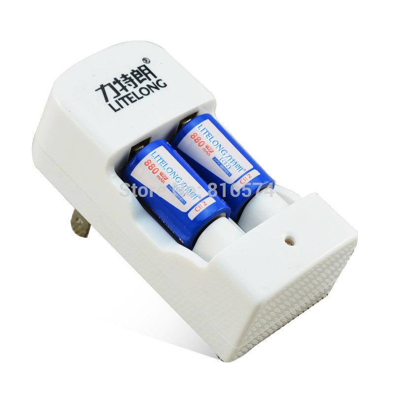 2pcs litelong 880mah 3v rechargeable font b lithium b font font b battery b font camera