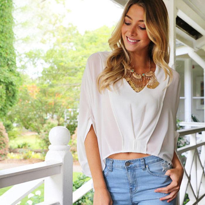 Модные Блузки Рубашки 2015