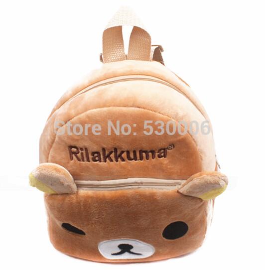 Kawaii мультфильм Rilakkuma детские мальчики девочки мягкие плюшевые дети школьный рюкзак детей малышей школьные сумки mochila infantil