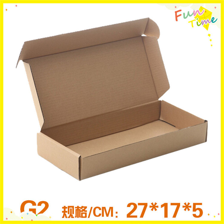 27*17*5Cm DIY Kraft Craft Jewelry Paper Boxes Fine Handmade Packaging Box Carton(China (Mainland))