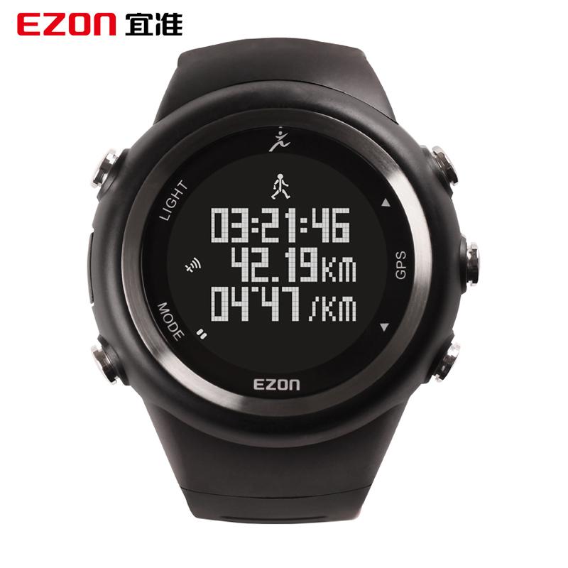 Ezon Quasi Sports Gps Watch Male Multifunctional Outdoor Electronic Waterproof Luminous Speed Running Table wristwatch(China (Mainland))
