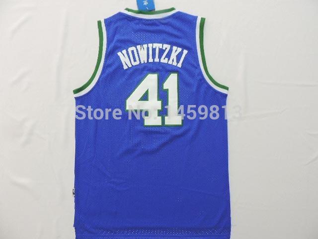 Dirk Nowitzki Authentic Jersey 41 Dirk Nowitzki Jersey Rev