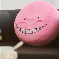 Hot New Ansatsu Kyoushitsu Assassination Classroom Anime All New Emoji Dakimakura Headrest Plush Free Shipping