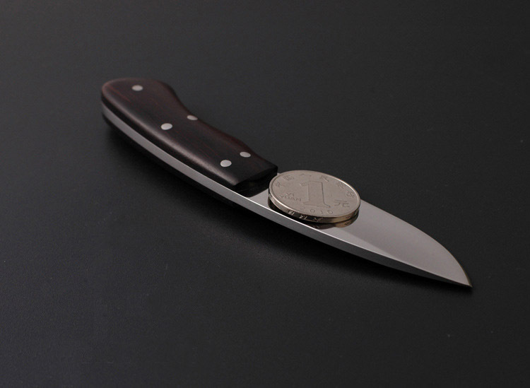 2015 The new Ebony multi functional outdoor knife Browning mini hunting small fixed blade knife