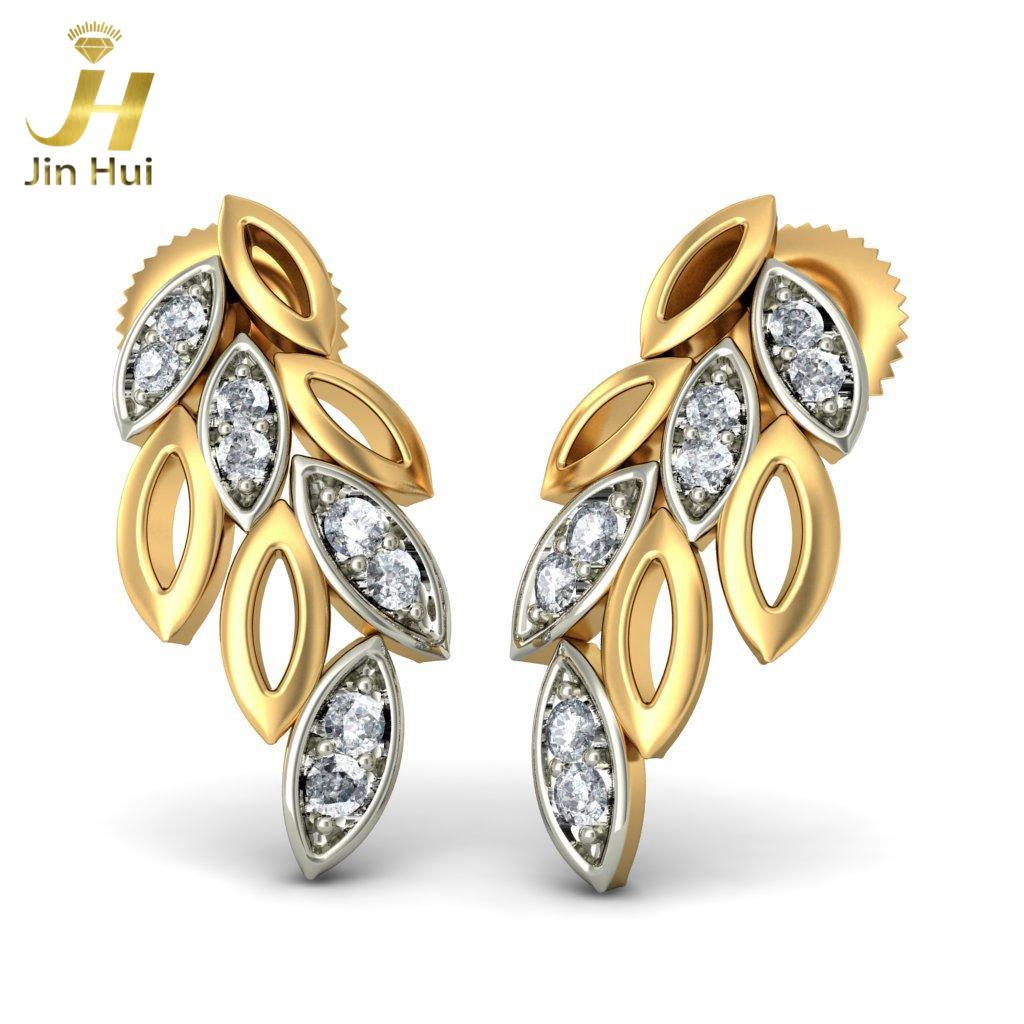 Jinhui 14K 585 0,16 CT JH-BS1899 jinhui dhwani 18k 750 0 08 jh bs4576
