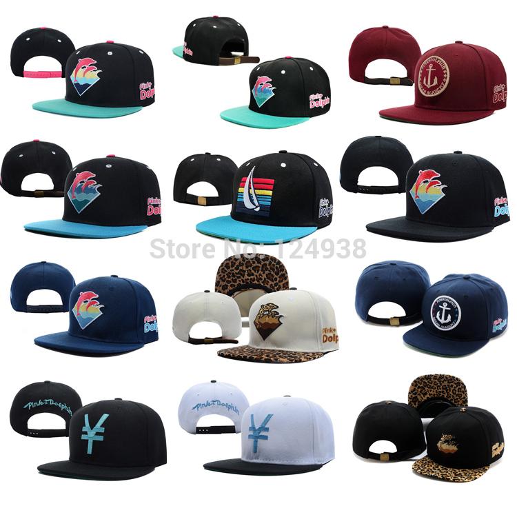 Outdoor hat man women hat summer baseball cap men sun hat Pink Dolphin Leopard Strapback men caps brand new snapback caps(China (Mainland))