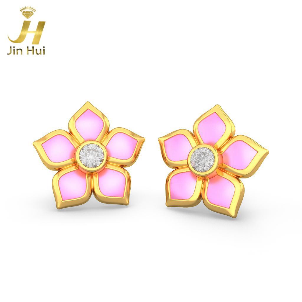 Jinhui 18K 750 0,116 CT JH-BS5115 jinhui dhwani 18k 750 0 08 jh bs4576