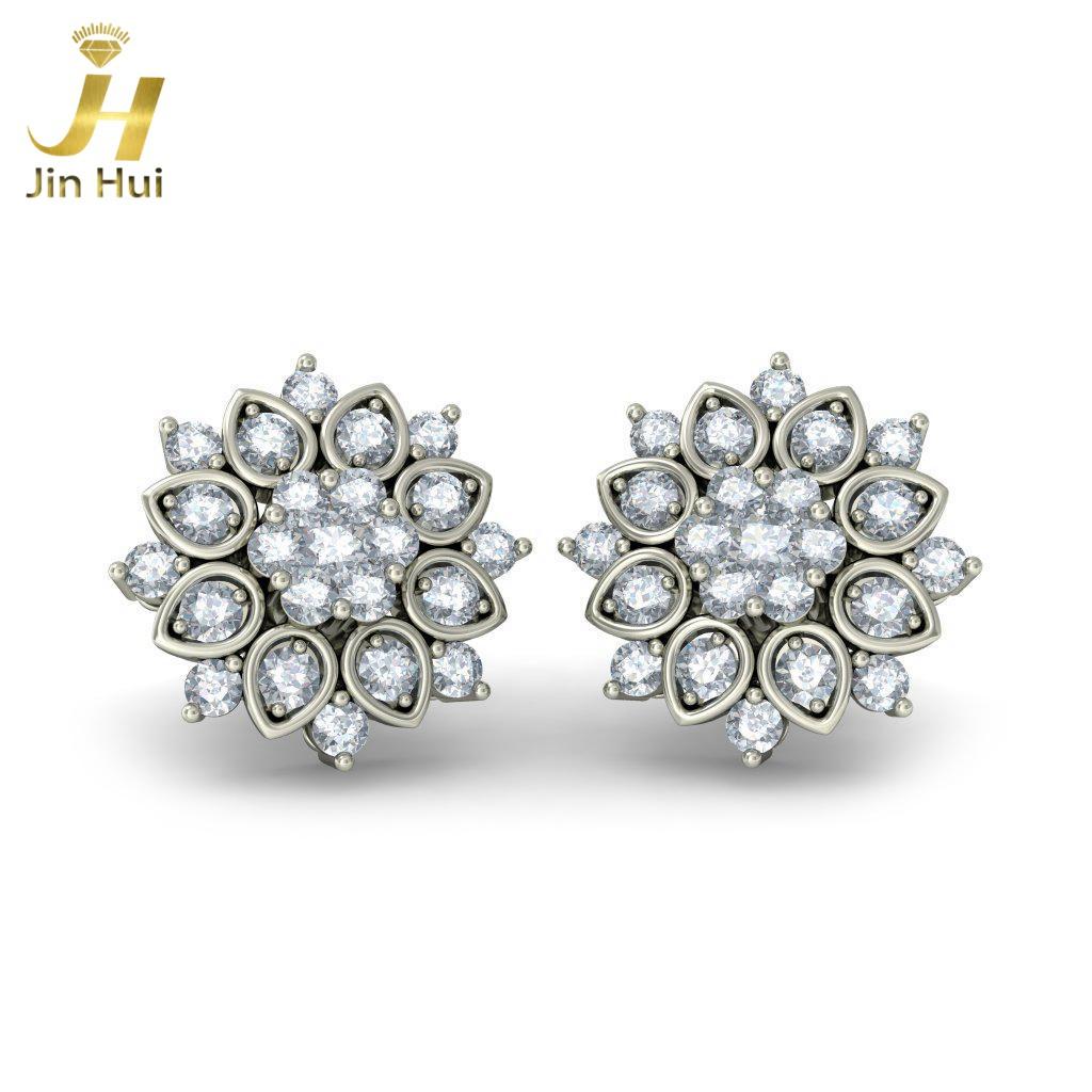 Jinhui 18K 750 0,71 CT JH-BS3355 jinhui dhwani 18k 750 0 08 jh bs4576