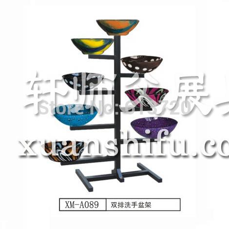 bathroom ceramic art basin display stand for showroom(China (Mainland))