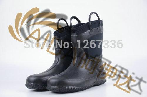 Children Neoprene Rubber Muck Boots&Rain Boots(China (Mainland))
