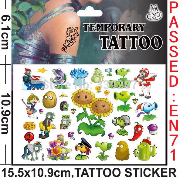 Sticker Tattoos For Kids Tattoos Plants Tattoo Stickers