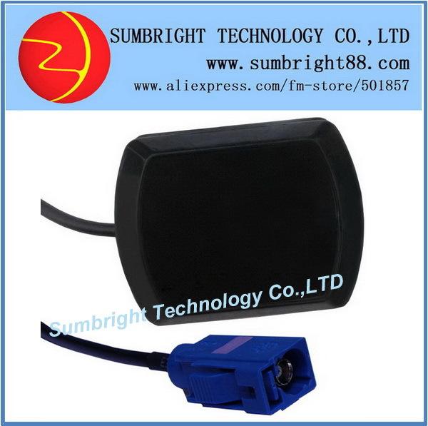 SB-CA119-FAKRA-3M 200pcs*outdoor waterproof satellite mini car active best auto high quality China FAKRA GPS GLONASS antenna(Hong Kong)