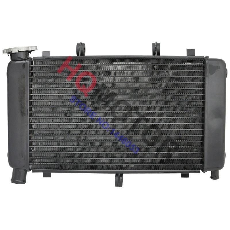 Aluminium Motorcycle Radiator Cooling For YAMAHA FZ6 FZ600 Fazer 2004 05 06 07 08 09 10(China (Mainland))