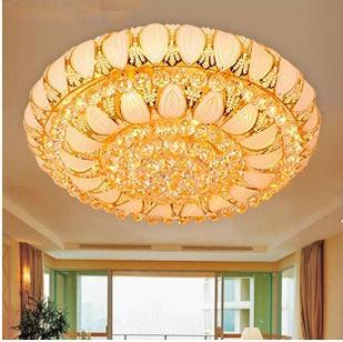 Guardian Lighting Ceiling Light Crystal Light cornucopia living room lamp bedroom lamp restaurant lights 7 color LED lamps(China (Mainland))