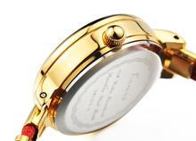 KIMIO 2015 New Luxury Women Watch Fashion Bracelet Watch Analog Dispplay 8 Rhinestone Dial Women Wristwatch