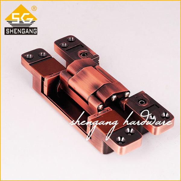zinc alloy invisible hinge heavy duty(China (Mainland))