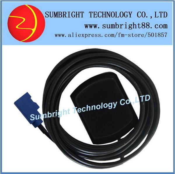 SB-CA119-FAKRA-5M 50pcs*combo navigator active outdoor waterproof external FAKRA mini China GPS antenna best car GLONASS(Hong Kong)