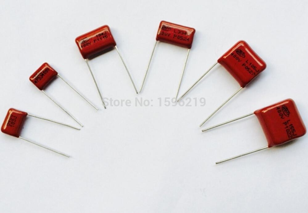 400V CBB Capacitor Assorted Kit,Sample bag,6ValuesX5PCS=30PCS,400V / 103J 473J 104J 334J 105J 155J,No Polarity AC Capacitor(China (Mainland))