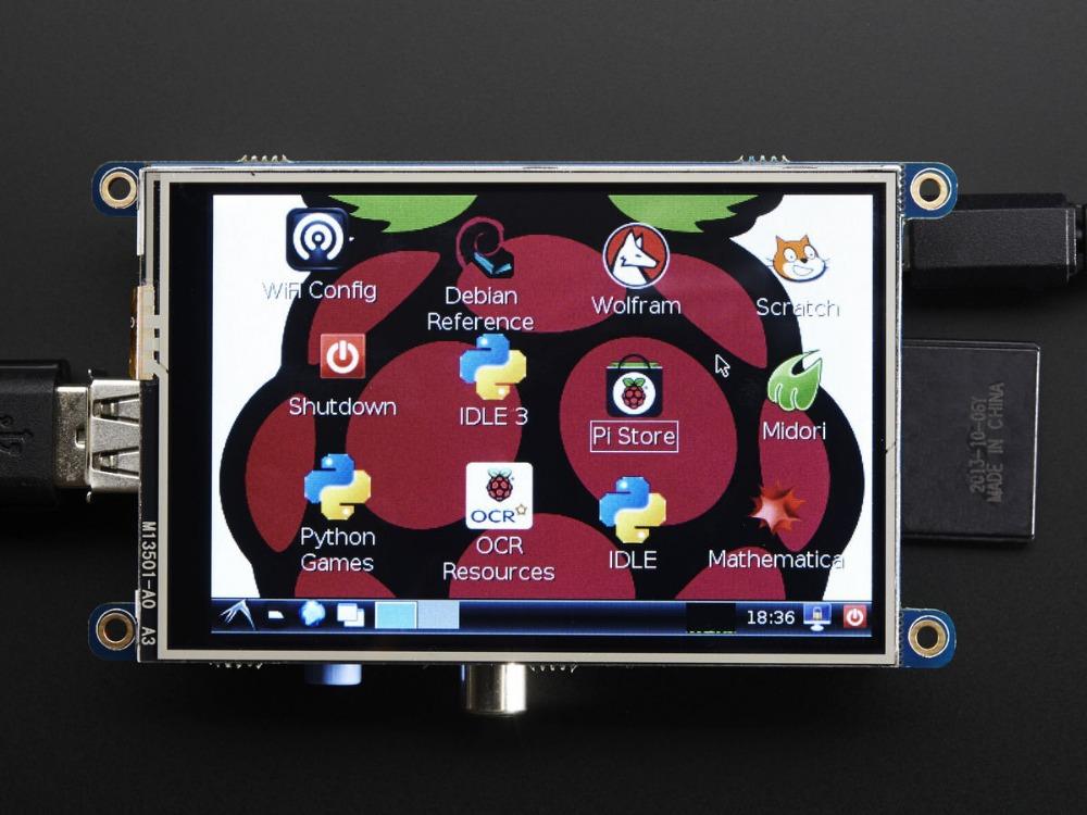 ЖК-модуль SainSmart 3,5/tft LCD 320 * 480 Pi 2 b + b жк модуль sainsmart 3 5 tft lcd 320 480 pi 2 b b