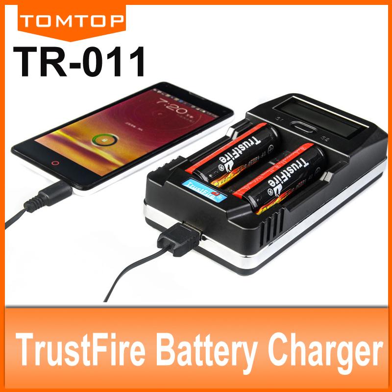 Зарядное устройство 18650 14500 26650 & TrustFire tr/011 LCD TR-011 устройство зарядное трофи tr 120