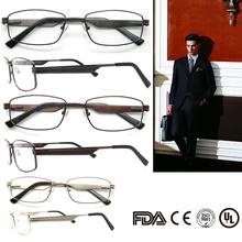 FREE SHIPPING 2015 brown eyeglasses man optical black spring hinge frame men accessories gold rectangle frame glasses B0121272