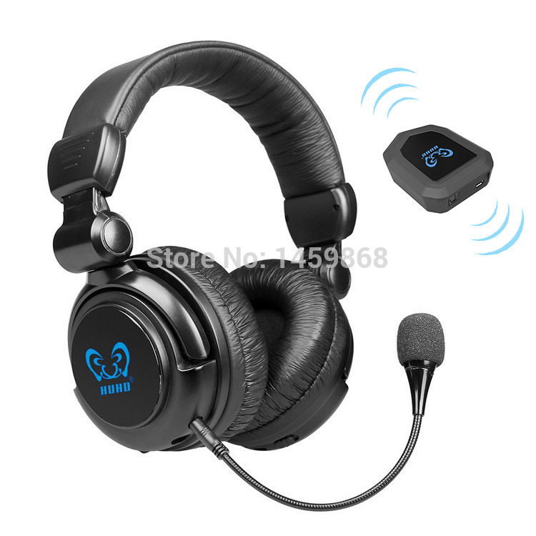 2.4G Stereo Vibration Wireless Gaming Headset Surround Sound Game Headphone With MIC for WII MAC PC TV XBOX 360 XBOX ONE PS3 PS4(China (Mainland))