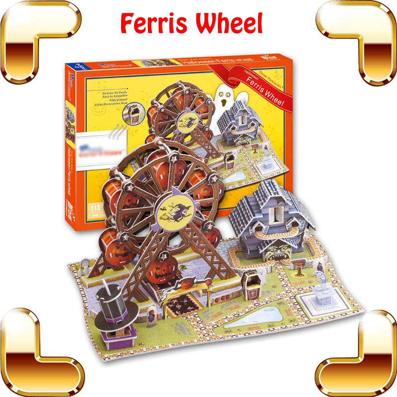 Water Wheel 3d Model Ferris Wheel 3d Model