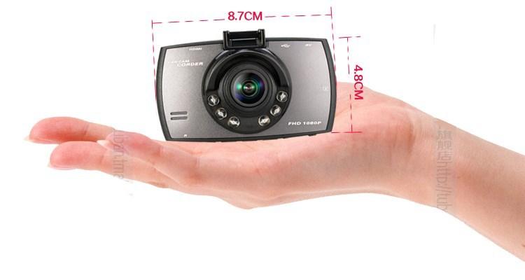 New 2.7 inch LED 1080P Full HD Car DVRs G-sensor/Night Vision 130Mega Pixels Car DVR 6G Lens / JPG/BAT/MIC/speaker Car Camera(China (Mainland))