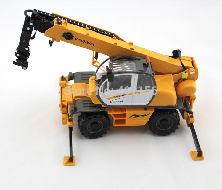 1:50 KAIDIWEI material transporter truck crane Toy(China (Mainland))