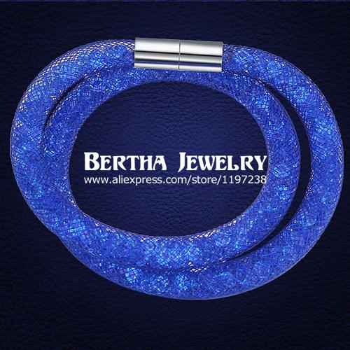 Браслеты на запястье Bertha Jewelry & Stardust Pulseras Swarovski 19042 new plc programmable logic controller cj1 m download cable cs1w cn226