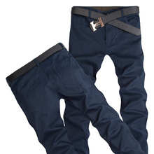 Free Shipping! Fashion Casual Mens Pants New Design Business Trousers High Quality Cotton Pants 9 Colors Size 28 – 44