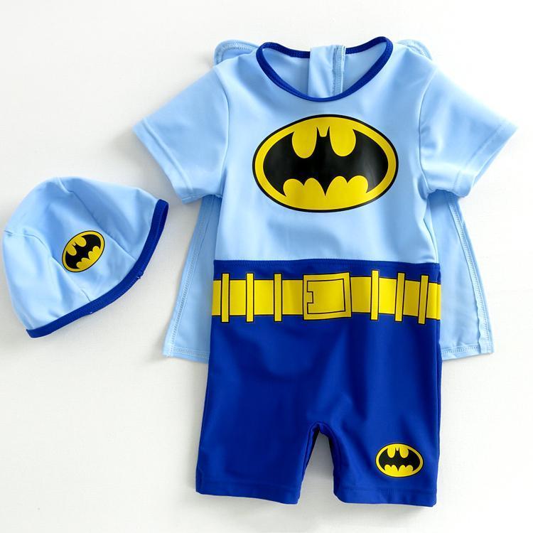 Trajes De Baño Ninos Natacion:Niños traje de baño natación troncos Batman niños un traje de