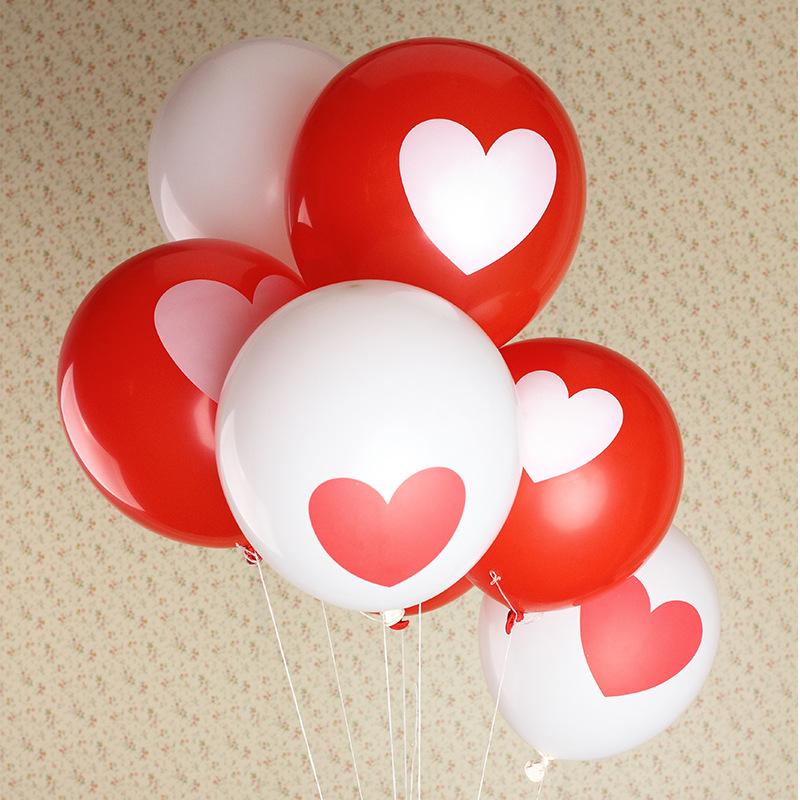 "12"" Atex Balloon Air Balls Inflatable Toy Heart Wedding Party Decoration Happy Birthday Kid Globos Party Baloon Ballons Baloes(China (Mainland))"
