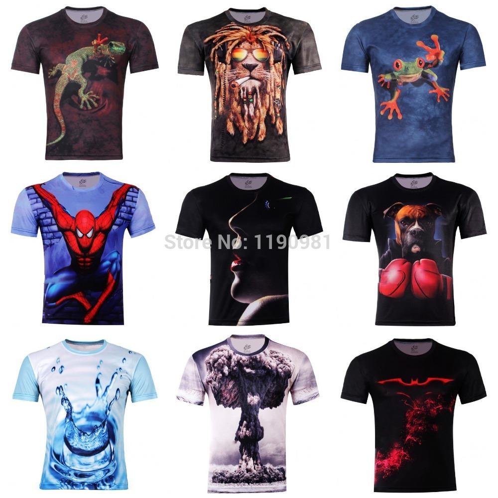 Мужская футболка Tee 3D , 3D xs/6xl /21 t мужская футболка 3d t tee t o 100