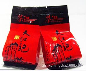 500g 2015 new tea Dahongpao Mount Wuyi Rock Tea Premium 70 pound black wrap shipping(China (Mainland))