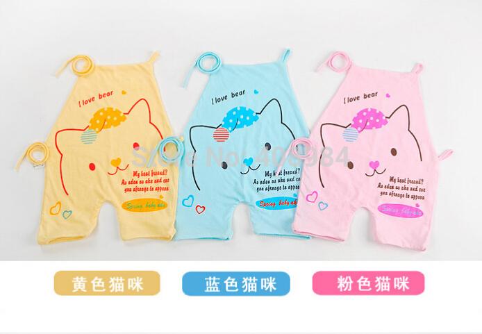 baby bib bellyband 100% Cotton Summer Newborn Apron Rompers Cotton Baby Bellyband(China (Mainland))