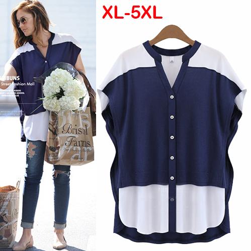 Блузки и Рубашки для беременных New Brand 2015 Batwing Blusas M26190